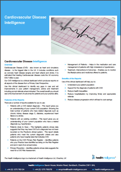 Cardiovascular Disease Intelligence
