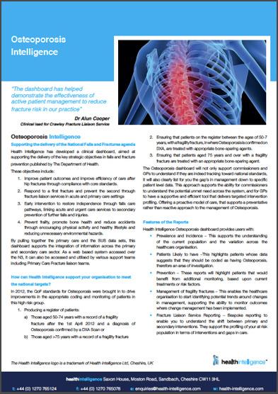 Osteoporosis Intelligence